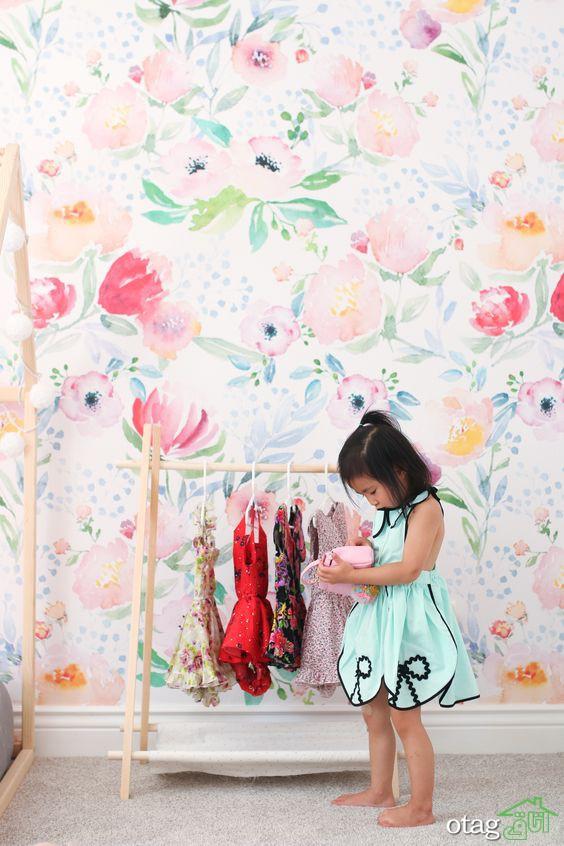 16 ایده فانتزی برای کاغذ دیواری دخترانه