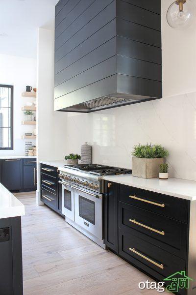آشنایی با 19 مدل، دکوراسیون آشپزخانه نقره ای