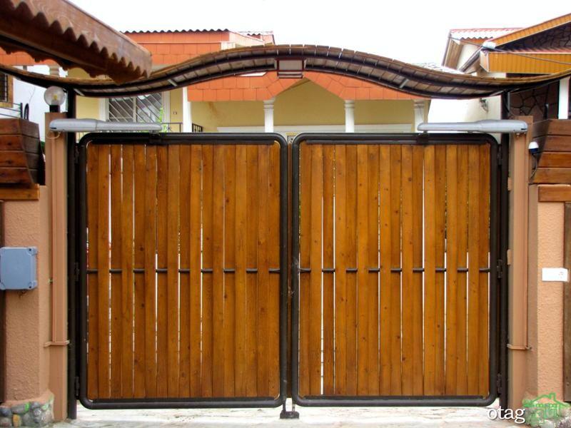 ایدههایی برای مدل درب حیاط و ویلا،  چوبی یا فلزی؟