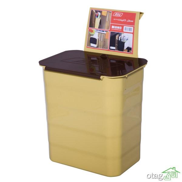 41 مدل سطل زباله مناسب برای خانه و اداره + خرید