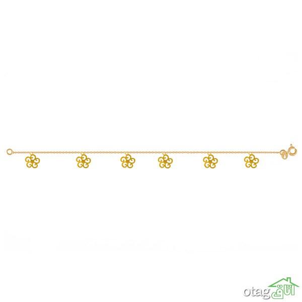 39 مدل بهترین پابند طلا، شیک و قیمت مناسب + خرید