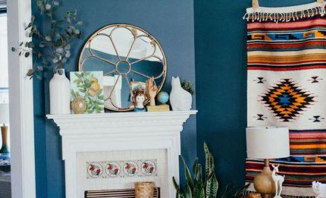 رنگ آبی را در سال 2020 احساس کنید،از مبلمان تا دیوارها