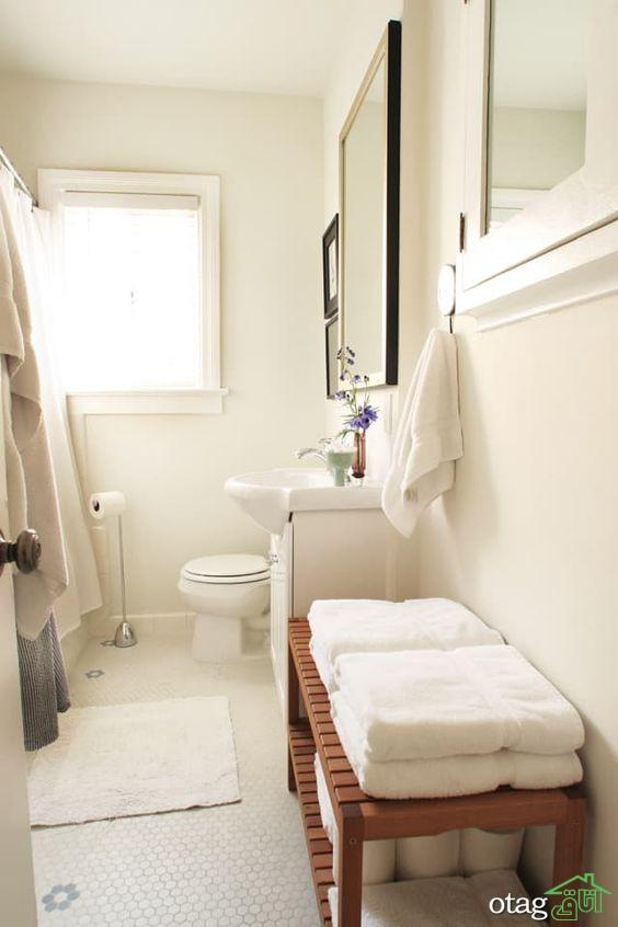 چگونه نیمکت حمام، نمای حمام شما را تغییر می دهد؟