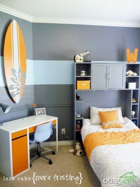 رنگ اتاق پسرانه را چطور انتخاب کنیم؟ راهنمای انتخاب رنگ اتاق پسرانه