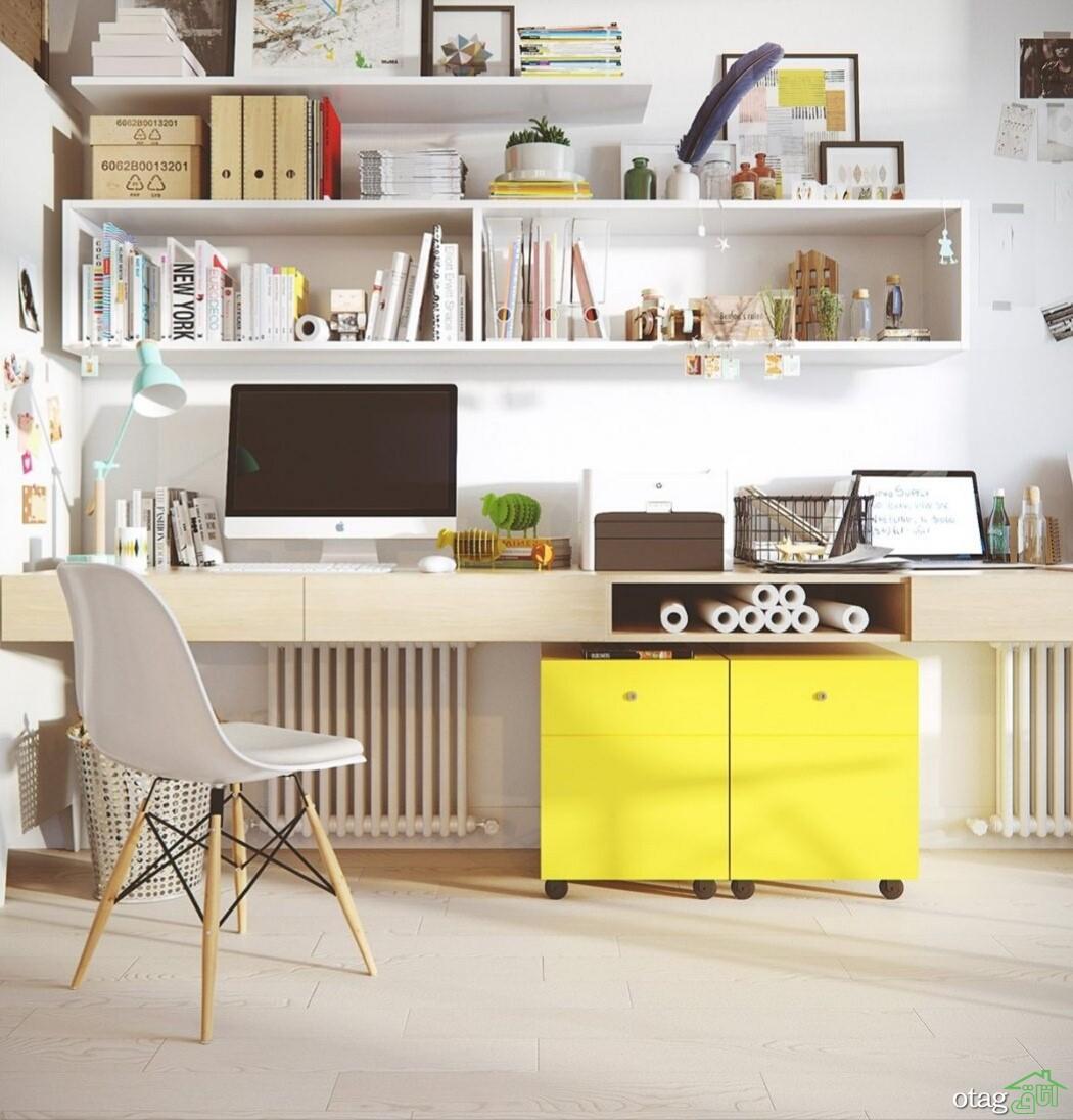 آشنایی با مدل های دکوراسیون اتاق کار خانگی در سال 2020