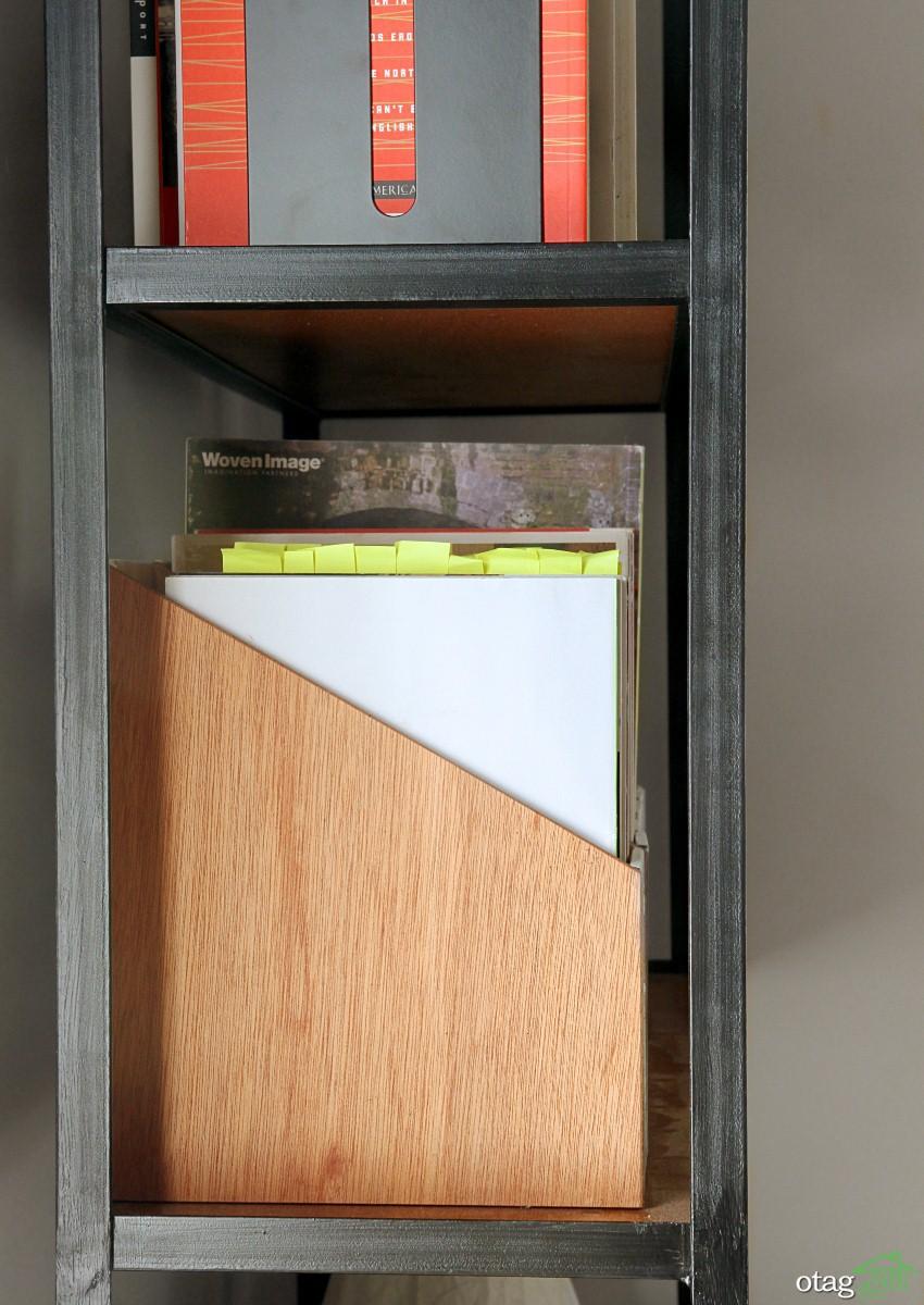 خودتان بسازید، ساخت و طراحی یک نگهدارنده مجله دکوری