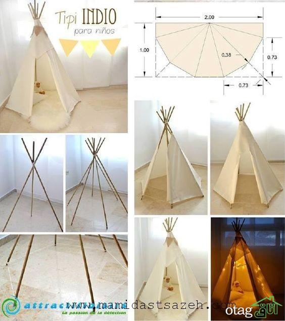 چند ایده و ترفند برای چیدمان اتاق کودک با وسایل ساده