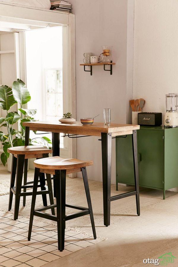 میز بار صبحانه، راهنمای اضافه کردن کانتر به فضای آشپزخانه