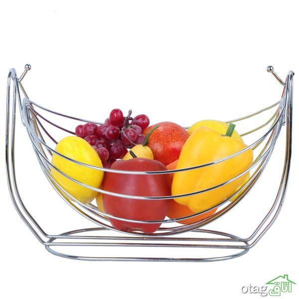 ۳۹ مدل سبد میوه حصیری و پلاستیک جدید + خرید