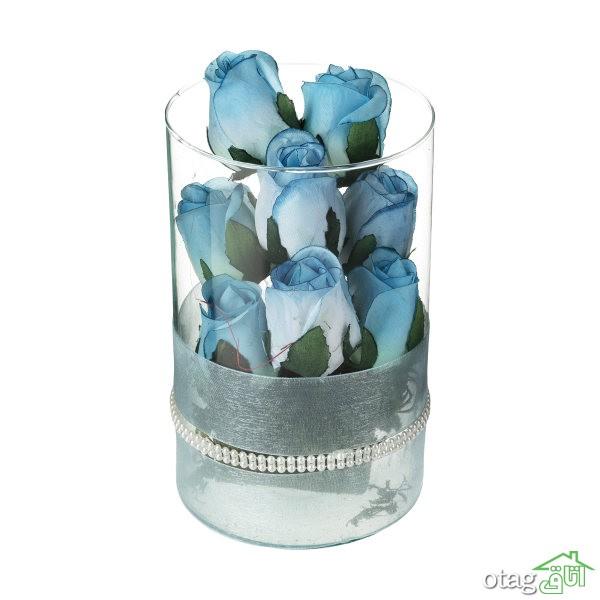 لیست قیمت 39  مدل گلدان شیشهای فانتزی و خاص با لینک خرید