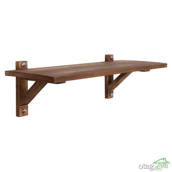 لیست قیمت 39 مدل طبقهی دیواری چوبی شیک با لینک خرید
