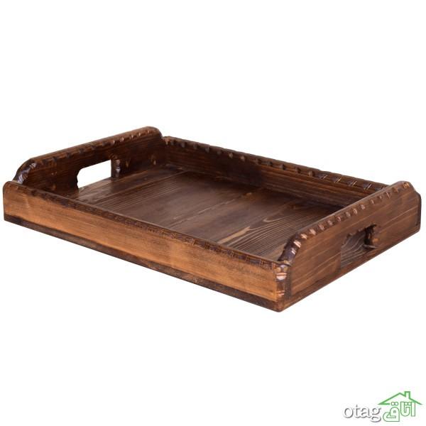 قیمت 41 مدل بهترین سینی چوبی مدرن و کلاسیک + خرید