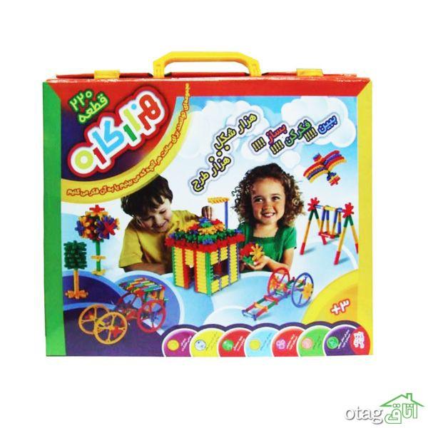 قیمت 39 مدل بازی ساختنی آموزشی و فکری + خرید