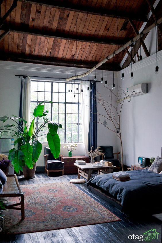 آپارتمان استودیویی یا همان سوییت،دکوراسیون خانه های زیر 50 متر