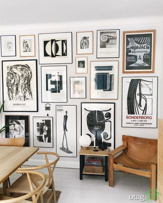 دیوار گالری چیست؛ ایده هایی برای ایجاد بهترین دیوار گالری در خانه
