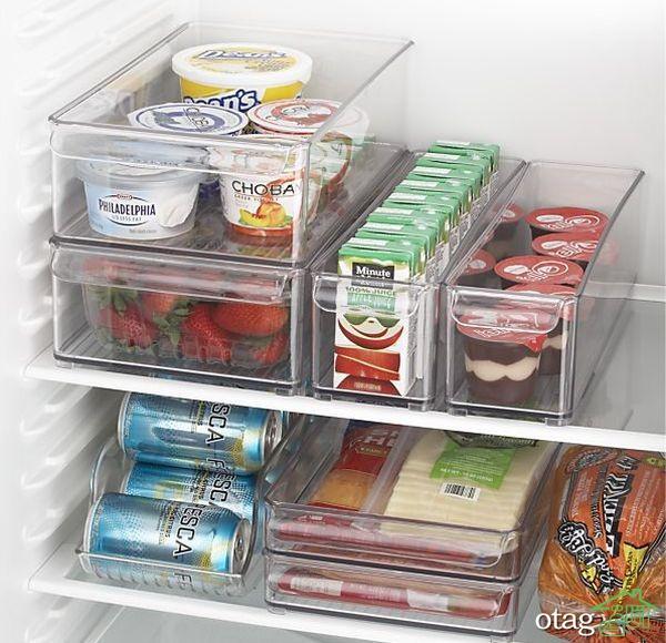 آموزش نکاتی برای سازماندهی یخچال و طبقات آن