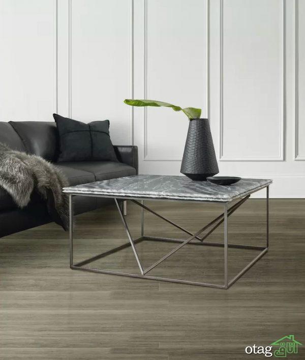 50 مدل میز جلو مبلی سنگ مرمر بسیار شیک در اندازه های متفاوت