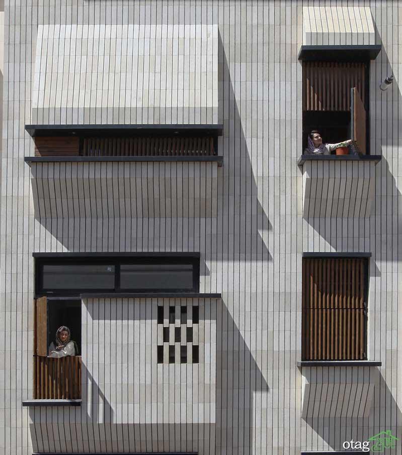 بررسی 3 مدل نمای ساختمان مسکونی در تهران و اصفهان