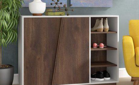 معرفی 30 مدل جاکفشی ایستاده در طرح های چوبی و فلزی
