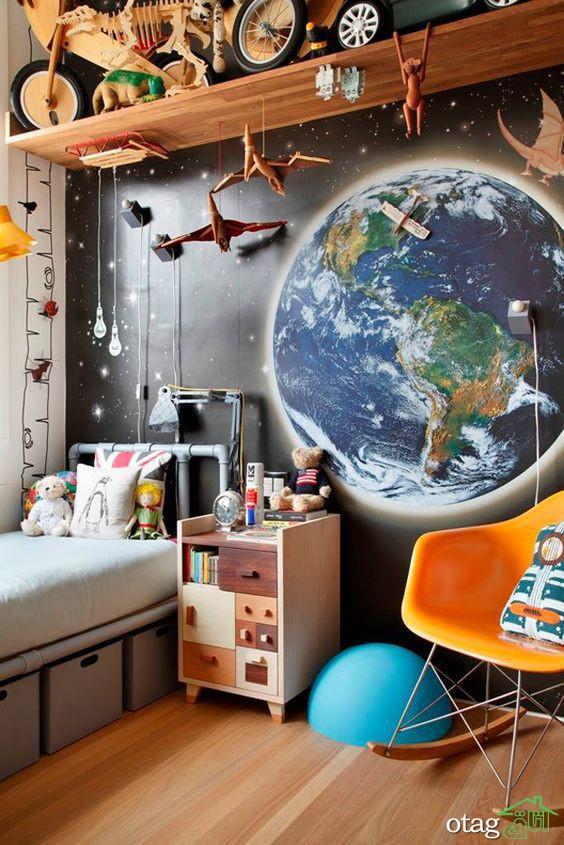راهنمای دکوراسیون اتاق کودک، ساده، ارزان و فانتزی