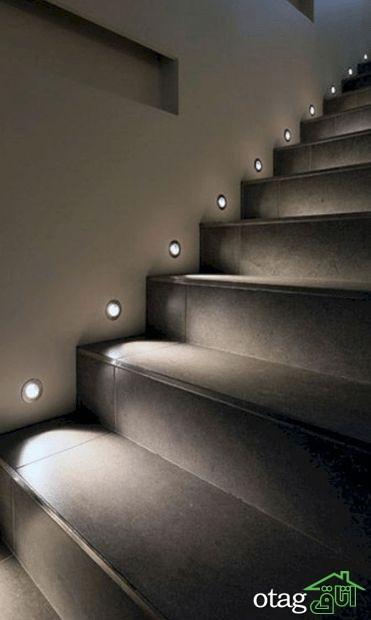 معرفی ایده های برتر در طراحی راه پله آپارتمان چند طبقه
