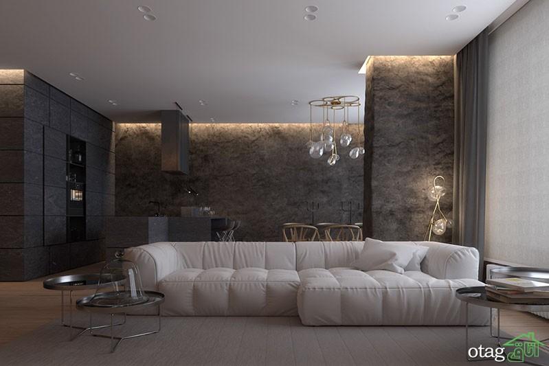 بهترین مدل های تکسچر دیوار داخلی در دکوراسیون مدرن و امروزی