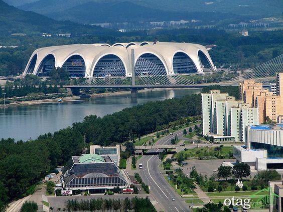 بررسی معماری ساختمان های کره شمالی و  ارتباط آنها با سیاست