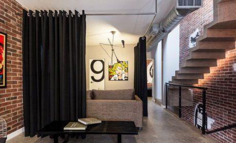 چگونه می توان به کمک دیوار پرده ای، یک طراحی زیبا ایجاد کرد؟