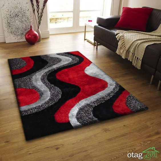 نحوه استفاده رنگ قرمز در دکوراسیون داخلی به روش مدرن و سنتی