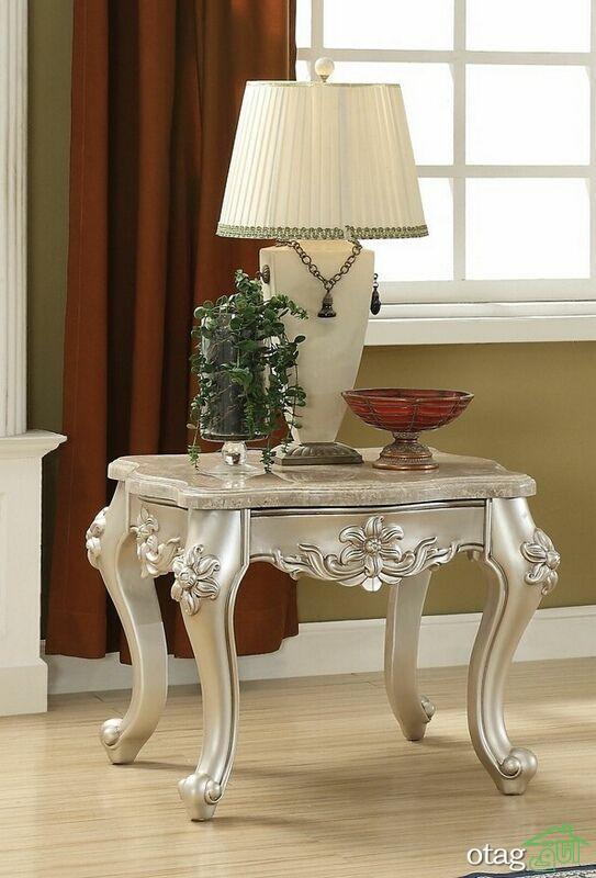 مدل های جدید میز عسلی سلطنتی در اندازه های تک و چندتایی