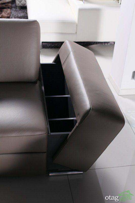 40 مدل مبل راحتی کشودار مناسب آپارتمان های کوچک و شلوغ