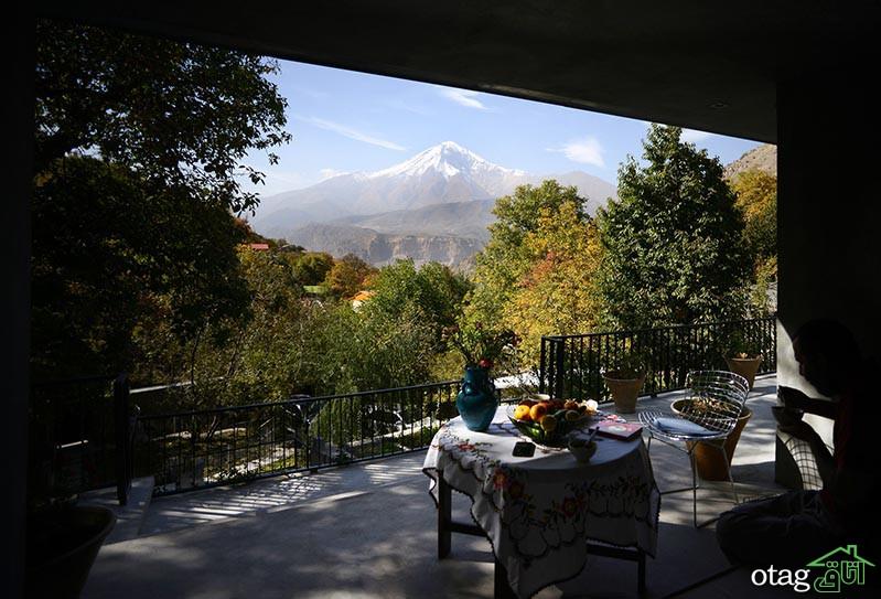 چهار نمونه طراحی ویلا در شهرهای مختلف ایران با سازه های عجیب