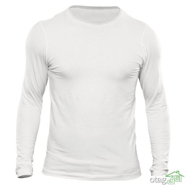 لیست قیمت 39 مدل تیشرت آستین بلند قیمت ارزان