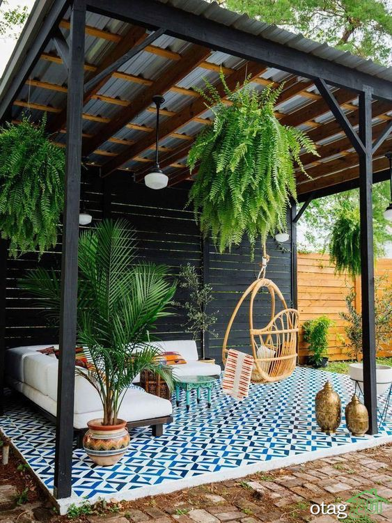 چند پروژه برای بهبود حیاط خلوت خانه شما
