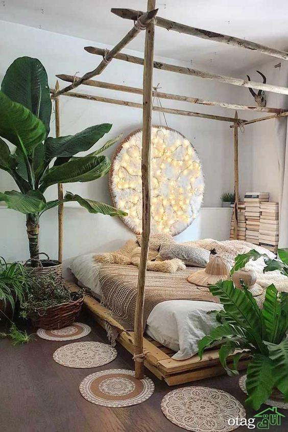 آشنایی با انواع طراحی تخت خواب جدید و مدرن