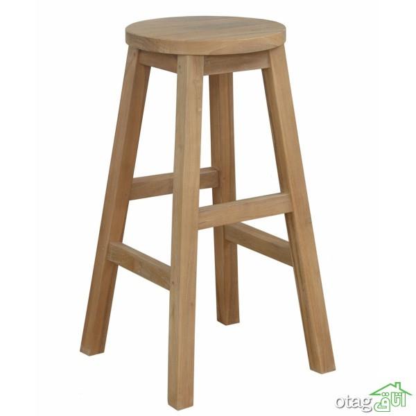 39 مدل صندلی کانتر مدرن و کلاسیک، چوبی و فلزی شیک + خرید