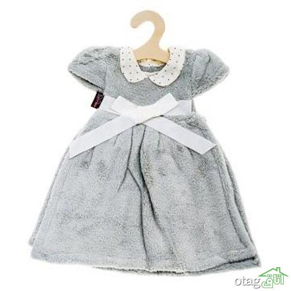 خرید 41 مدل بهترین حوله نوزاد و کودک پالتویی و فانتزی