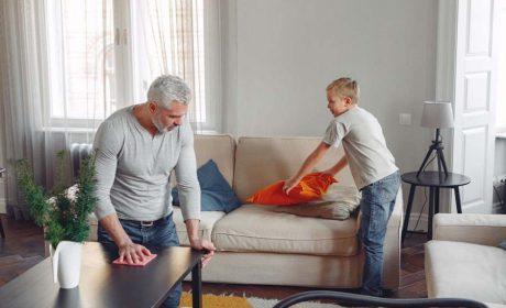 نظافت منزل و ضدعفونی در دوران ویروس کرونا!