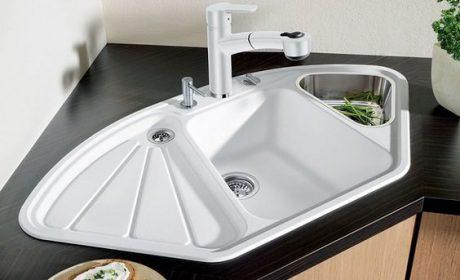 بیش از 30 مدل جدید سینک ظرفشویی گوشه ایروکار آشپزخانه