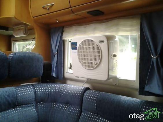 معرفی بهترین نمونه های تهویه کننده هوا داخل پنجره