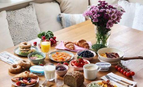 یک میز صبحانه؛ خیلی بیشتر از یک میز صبحانه!