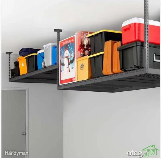 مدل های کابینت و قفسه بندی پارکینگ و گاراژ در طرح های متنوع