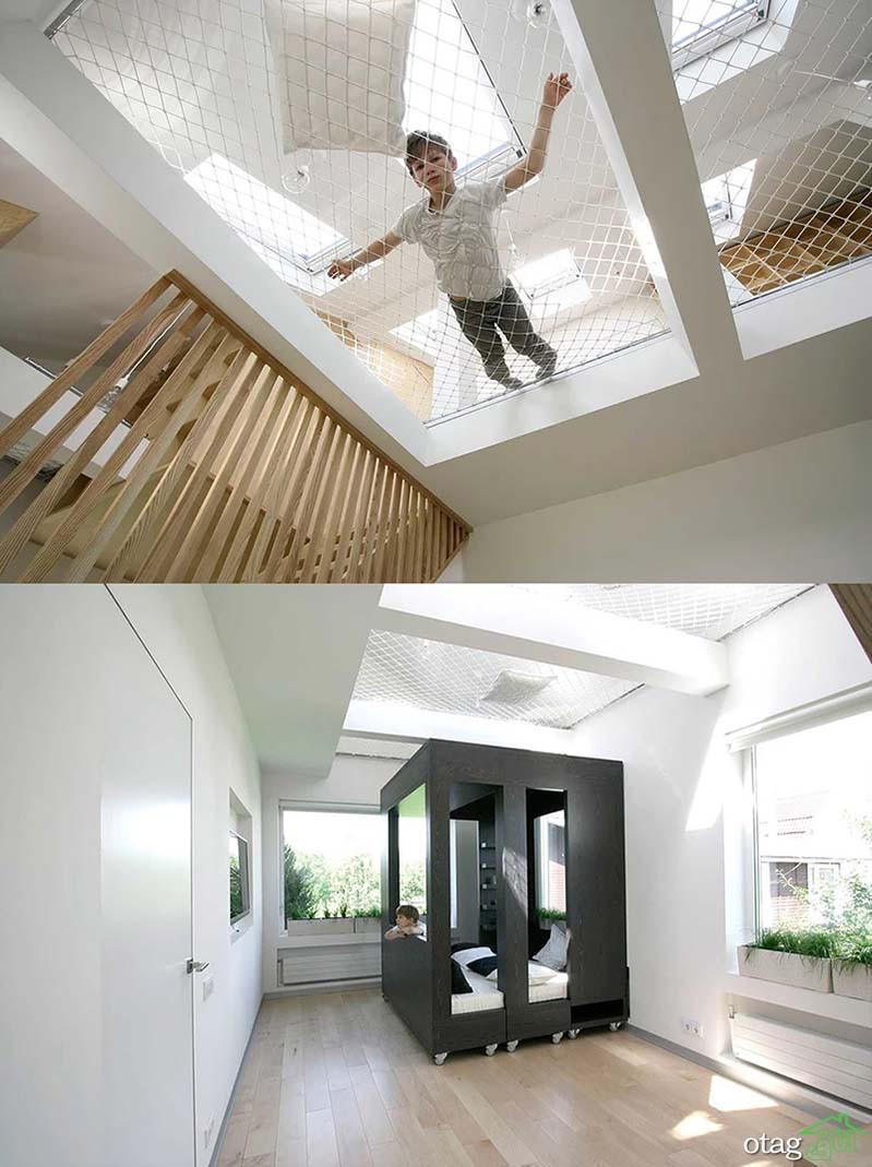 روش های خلاقانه ساخت و نصب ننو در منزل + 30 مدل عکس