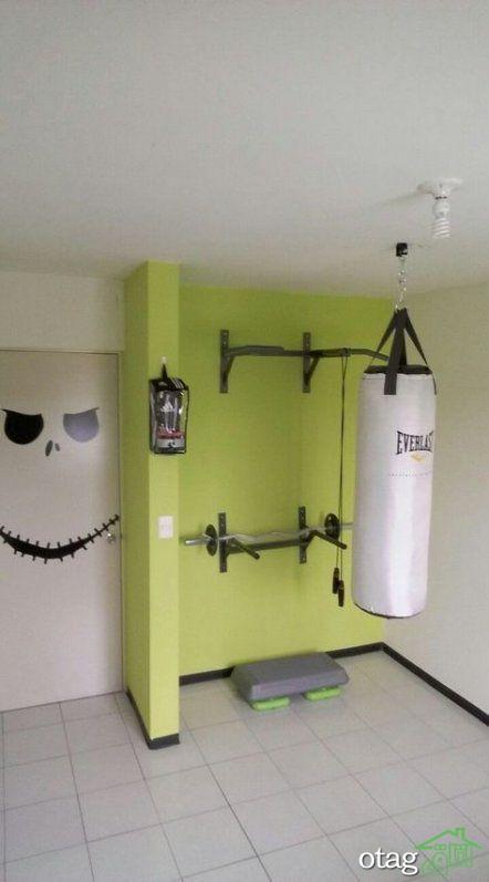 طراحی باشگاه خانگی به روش ساده و اصولی مناسب منازل کوچک