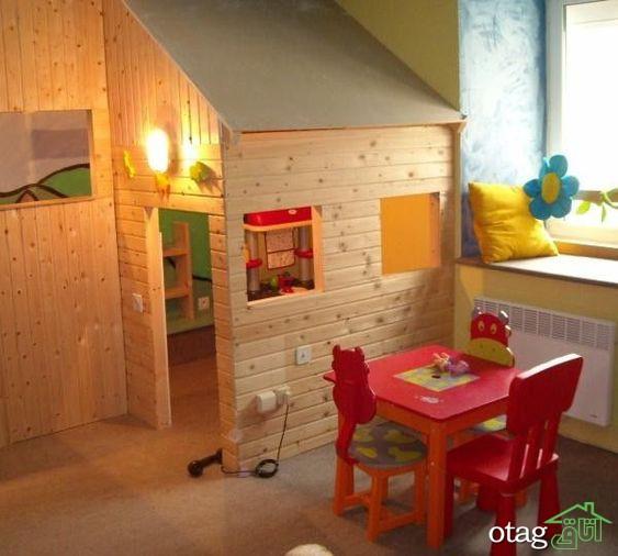مدل های جدید اتاق بازی کودک در خانه با طراحی جدید و خلاقانه