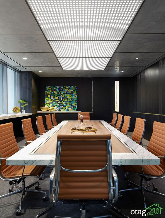 مدل های جدید صندلی چرمی اداری در طرح های کارمندی و مدیریتی