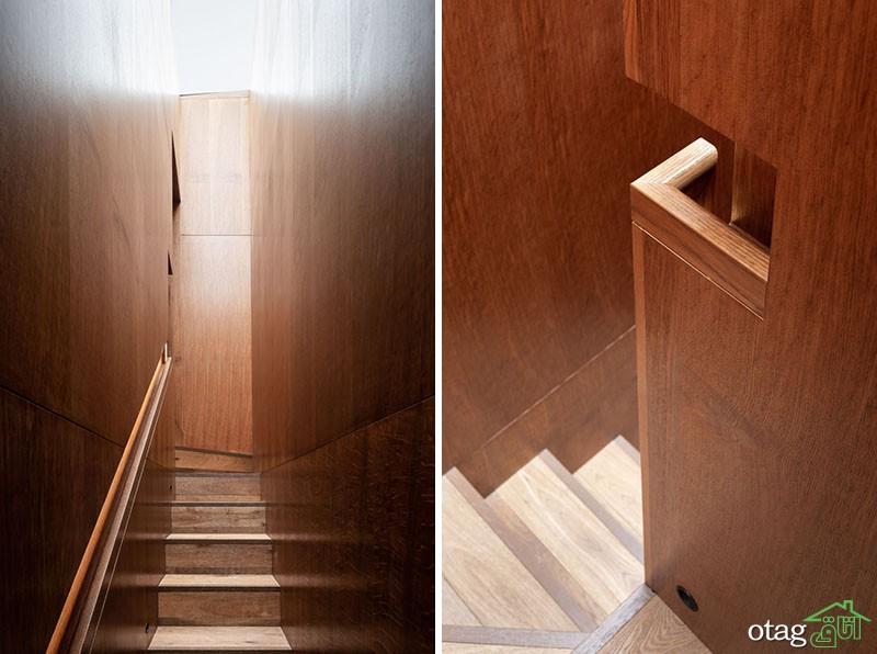 مدل نرده راه پله در انواع چوبی، فلزی و سنگی در طرح های لوکس