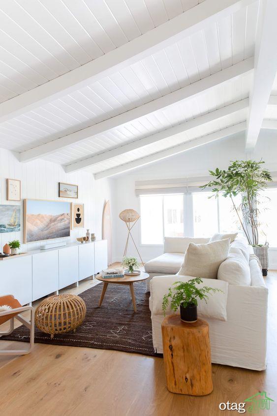 ایده های رنگی دکوراسیون خانه ساحلی در سال 2020