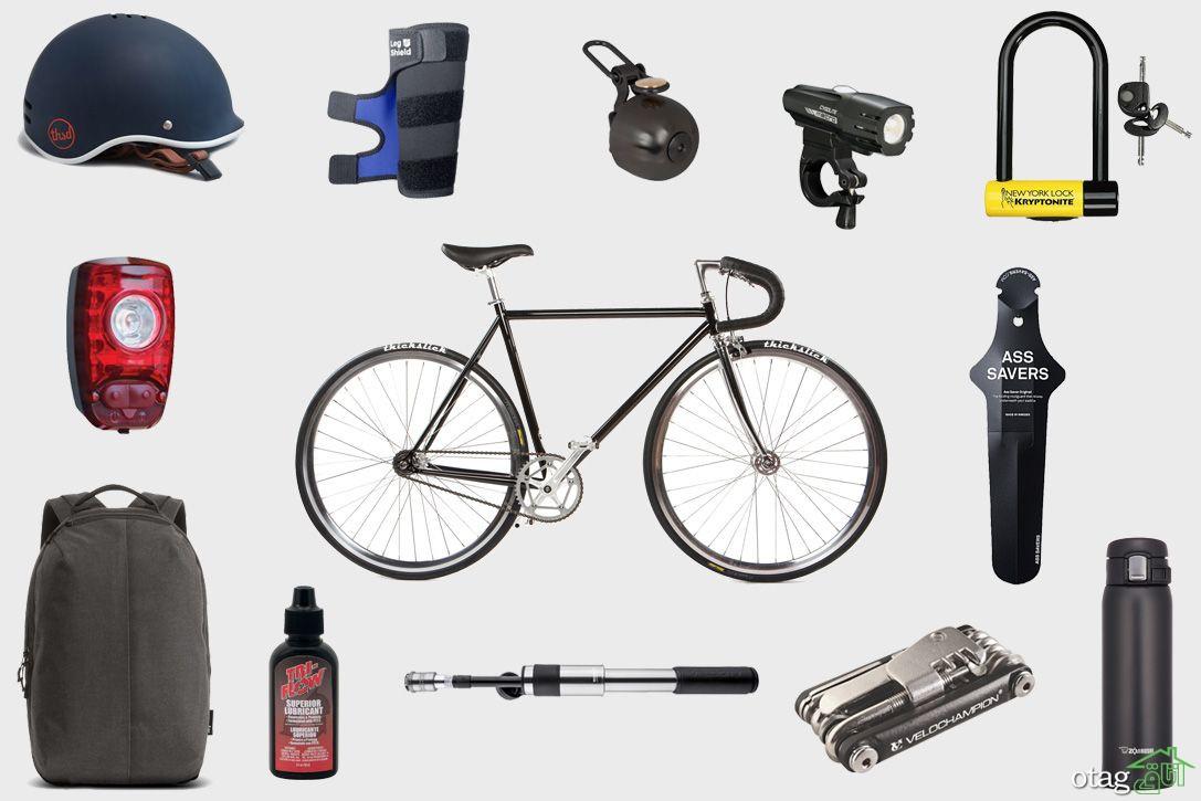 39 مدل لوازم جانبی دوچرخه و تزئین دوچرخه + قیمت