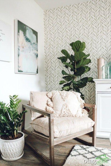 ایده های جدید کاغذ دیواری خاص برای دگرگونی خانه